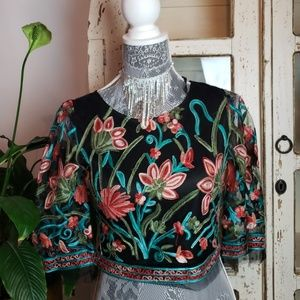 Gorgeous embroidered blouse